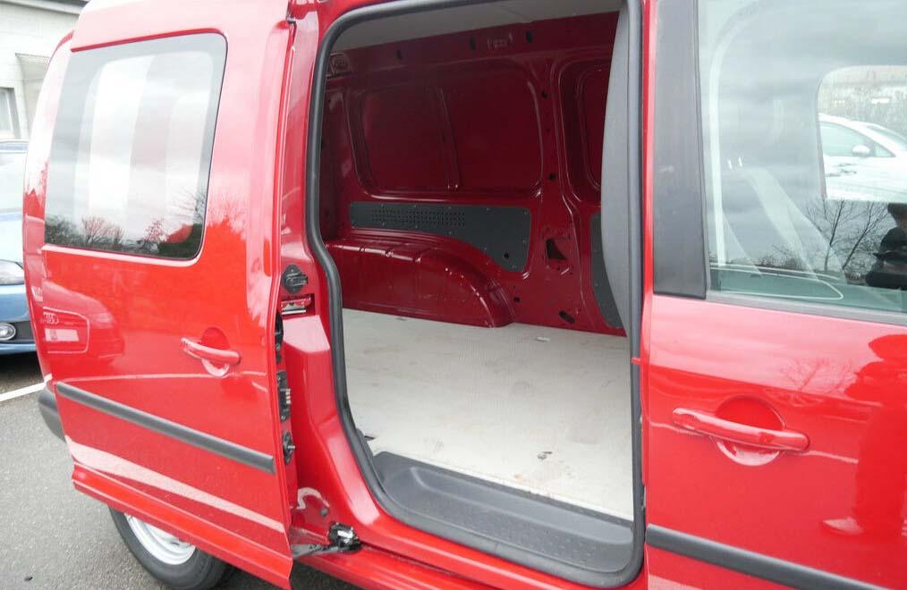 Ansicht Laderaum des VW Caddy Maxi