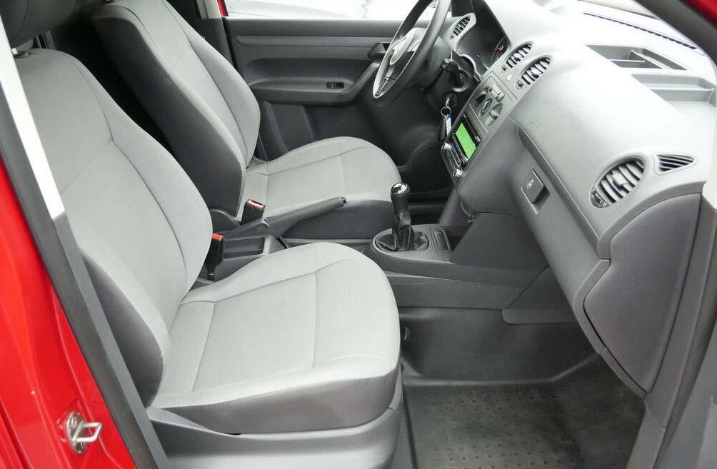 Ansicht Fahrerkabine des VW Caddy Maxi