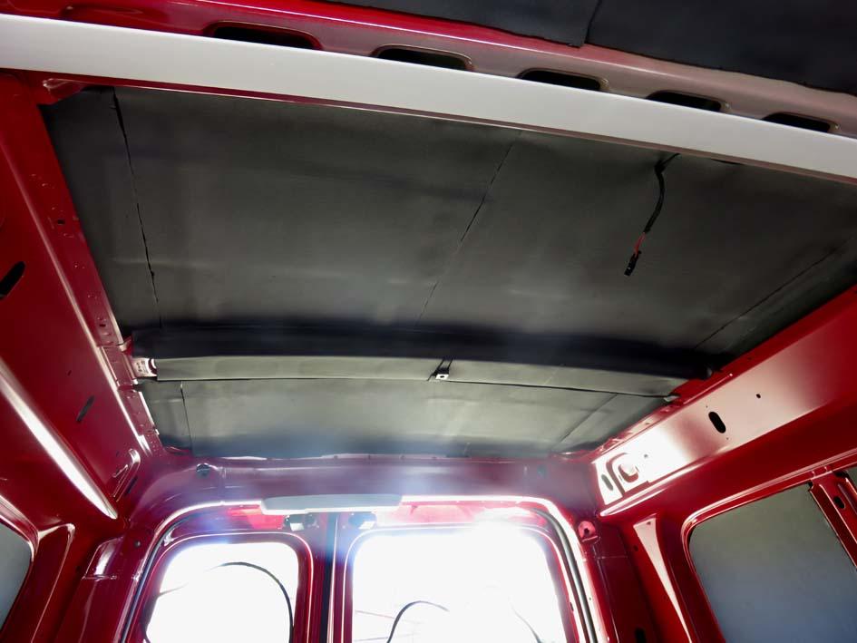 Isolierung des Dachs mit Armaflexplatten