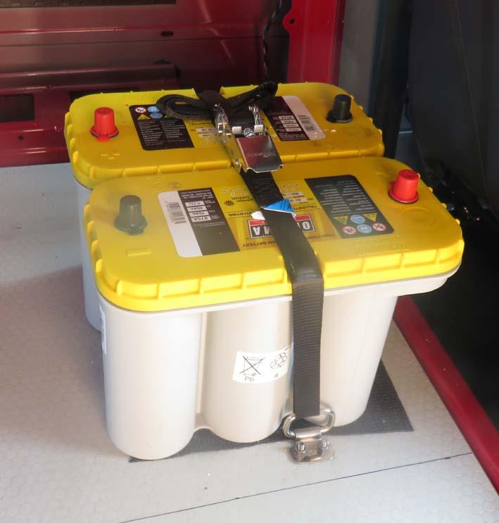 Versorgungsbatterien OPTIMA YELLOW TOP 75AH