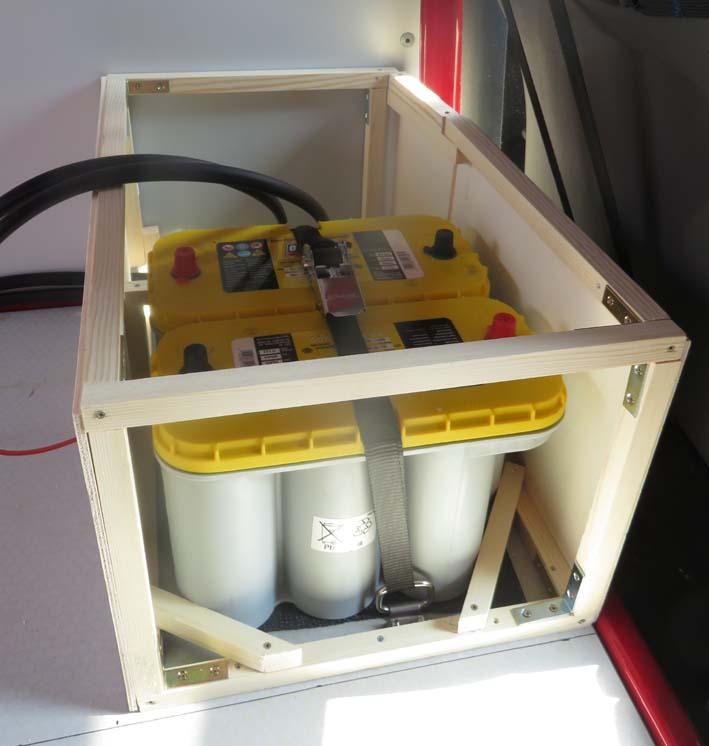 Bau der Elektrobox