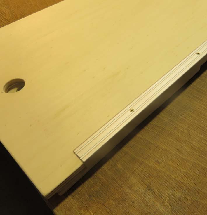 Bettplatten für die Konstruktion des Betts