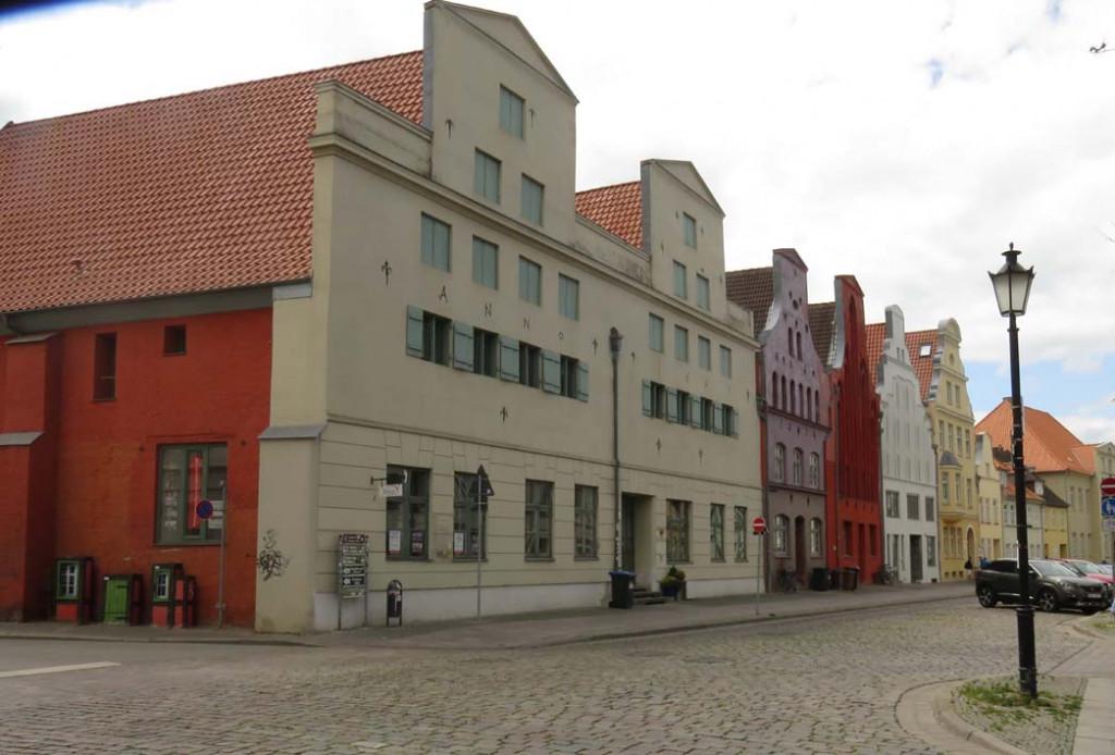 Historische Häuser in Wismar