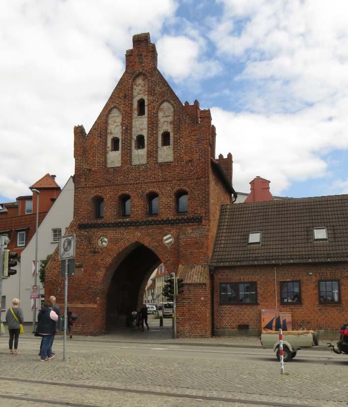 Altes Stadttor in Wismar