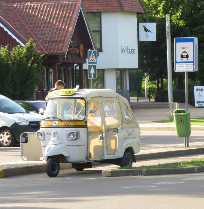 Tuk-Tuk in Nida