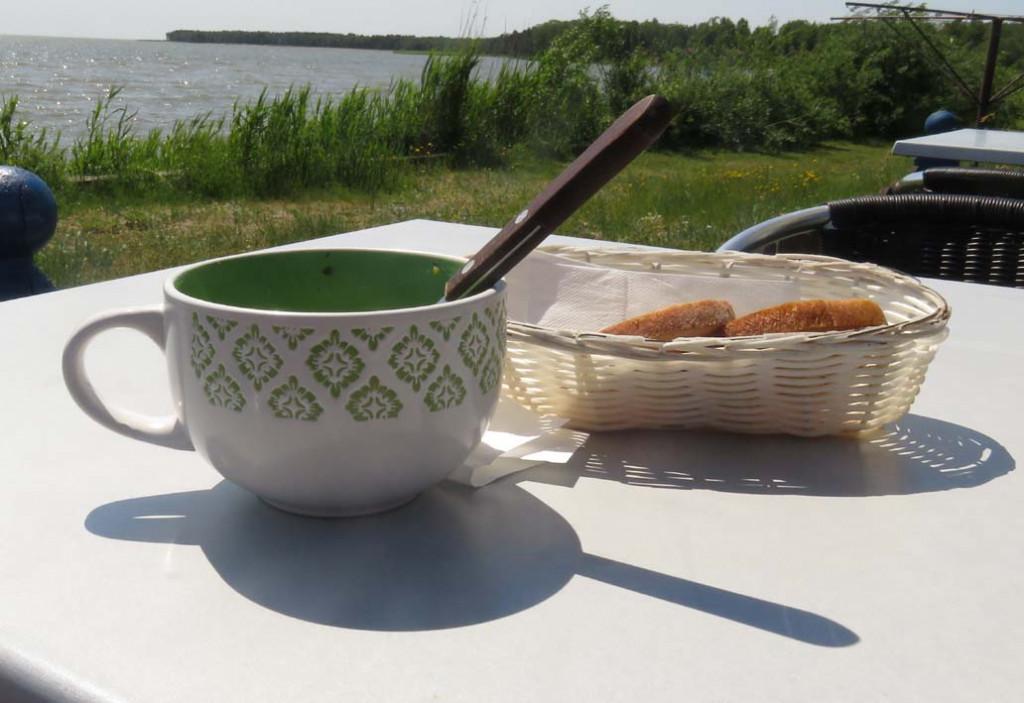 Fischsuppe zum Lunch