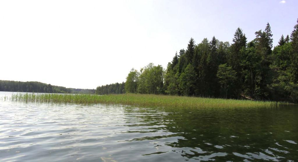 Paddeln auf dem Platelui See