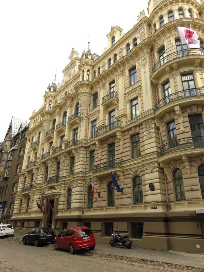Barocke Gebäude in Riga