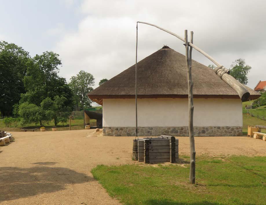 alter lettischer Bauernhof