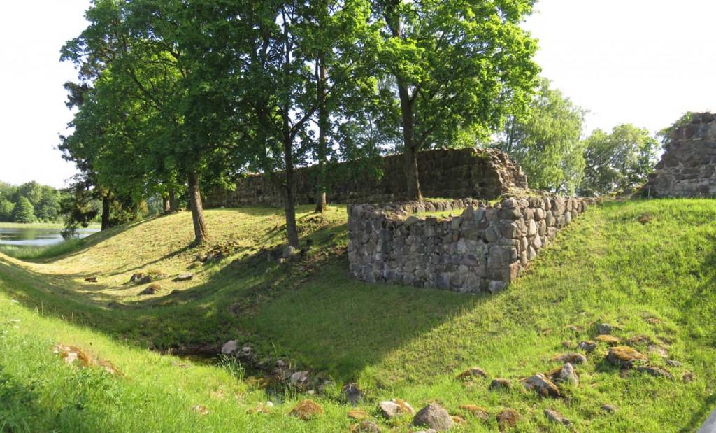 Burgruine des Livonischen Ritterordens