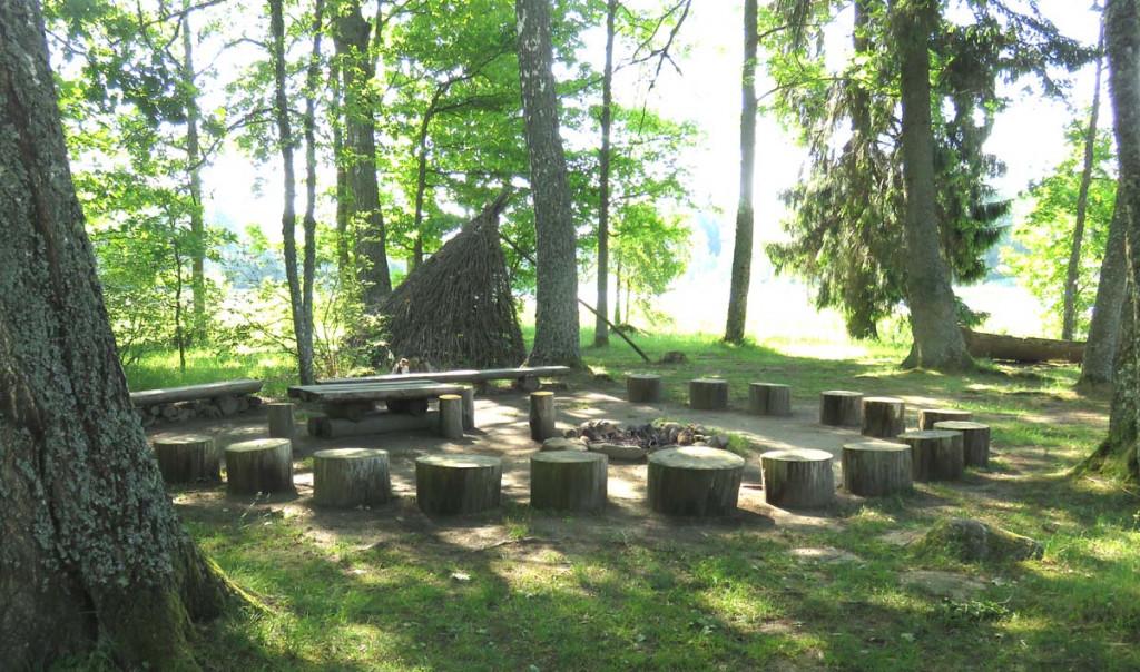 Bronze- und Steinzeit-Siedlung