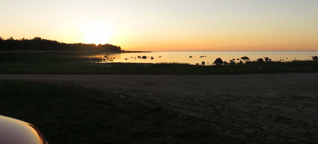 Sonnenuntergang auf Saareema