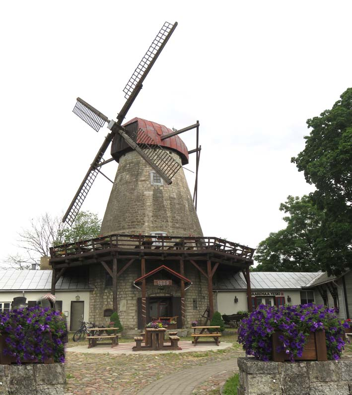 Windmühlen-Restaurant in Kuressaare