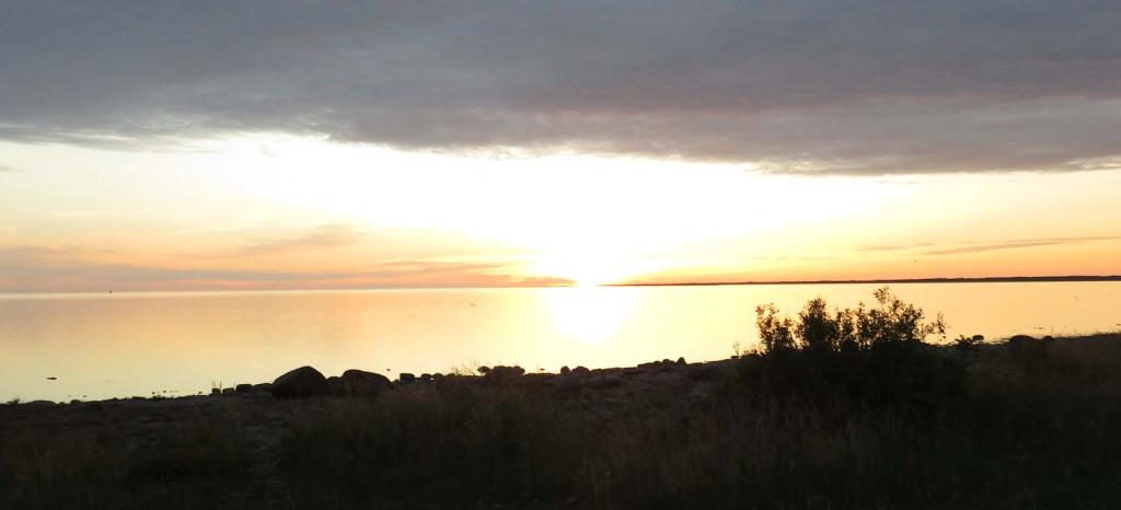 An der Westküste von Saaremaa