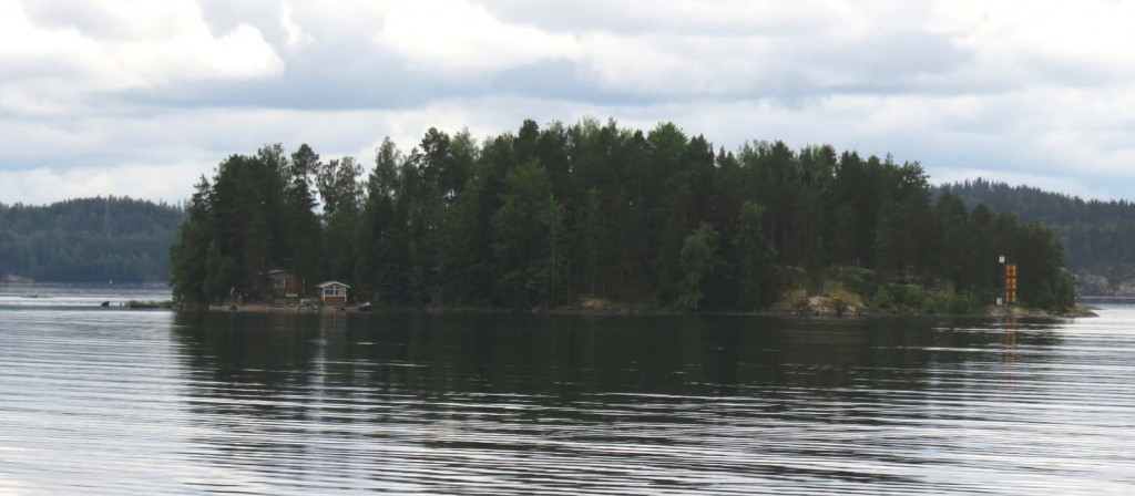 Inseln im Saimaa-See