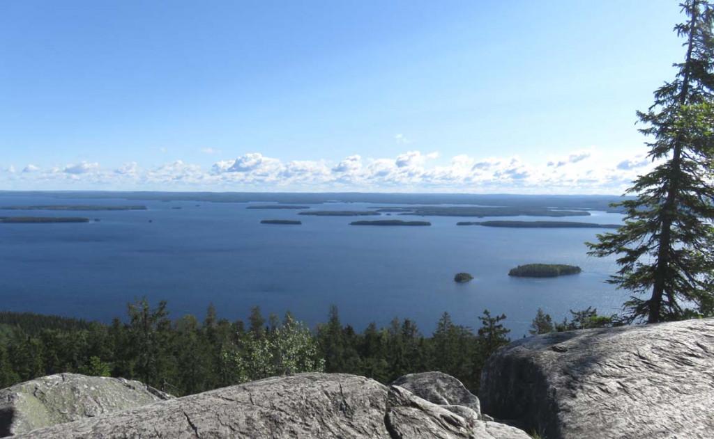 Ausblick von Ukko-Koli auf den Pielinen See