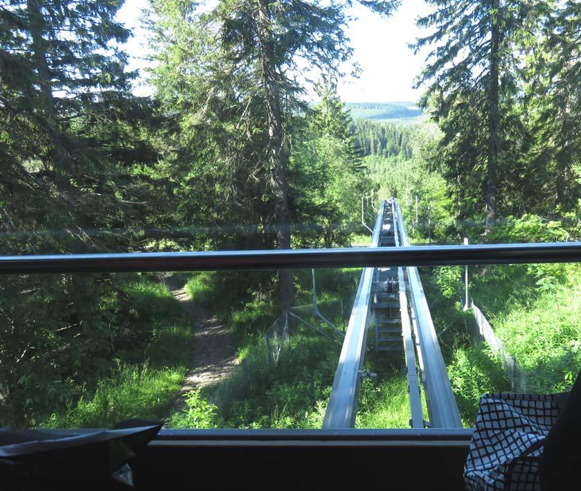 Zahnradbahn auf den Ukko-Koli