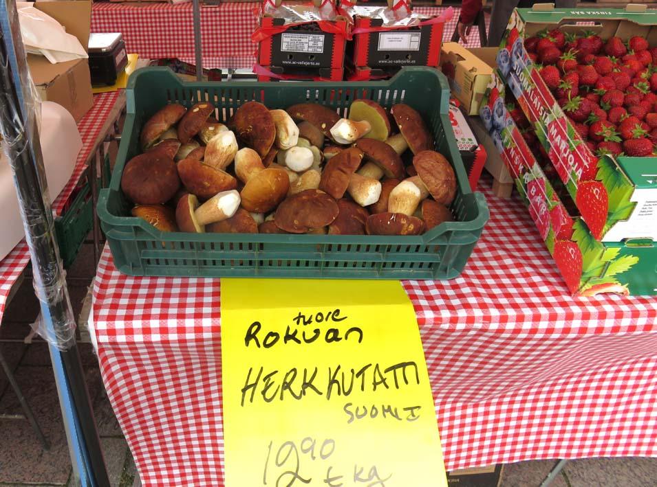 Marktplatz in Oulu
