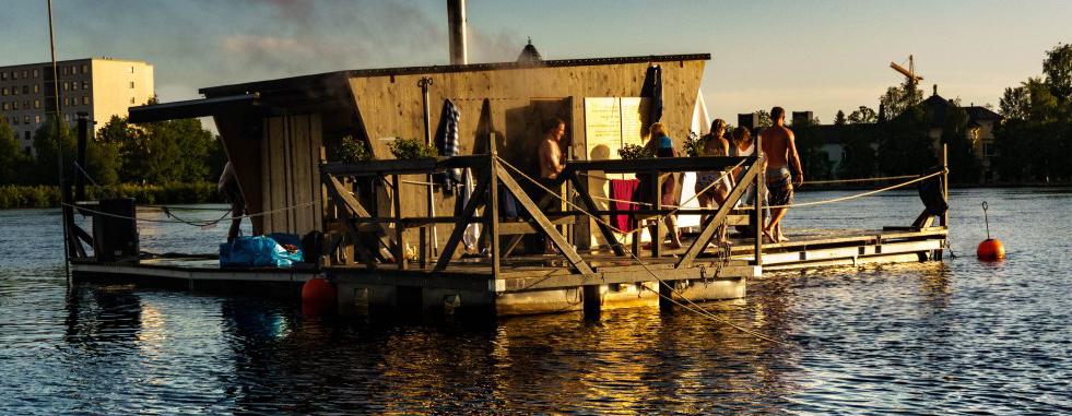 Kesän Sauna in Oulu